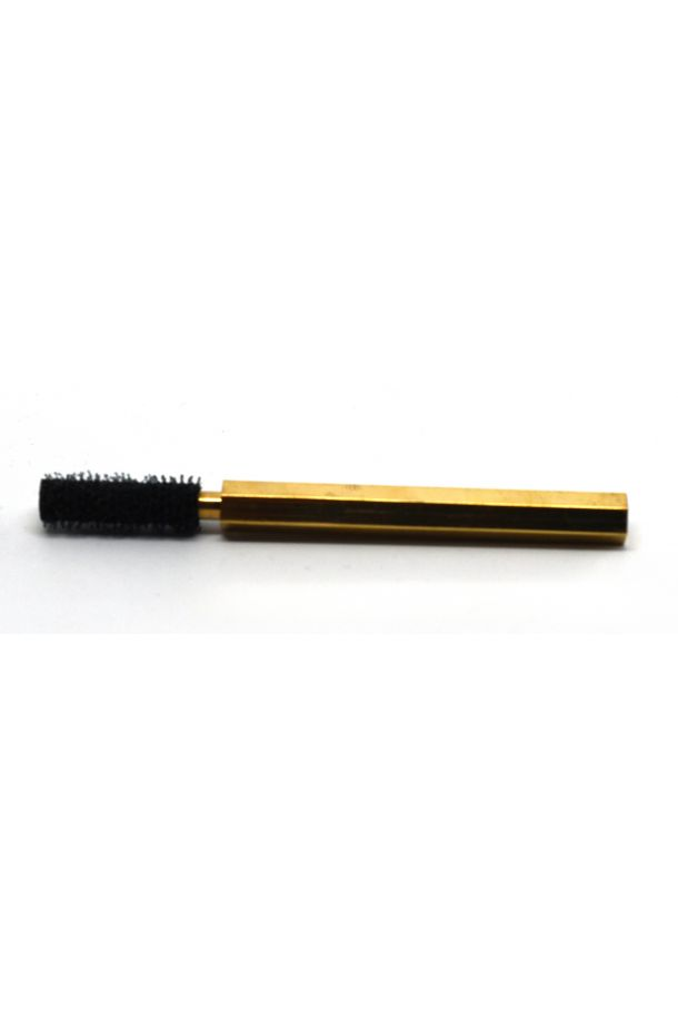 Velcro Dubbing Brush with Brass Handle