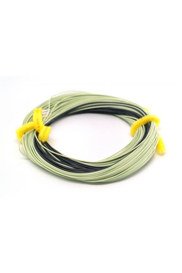 Farcast Fly Line Lemon Green / Black - Floating / 3ips Sinking Tip Fly Line