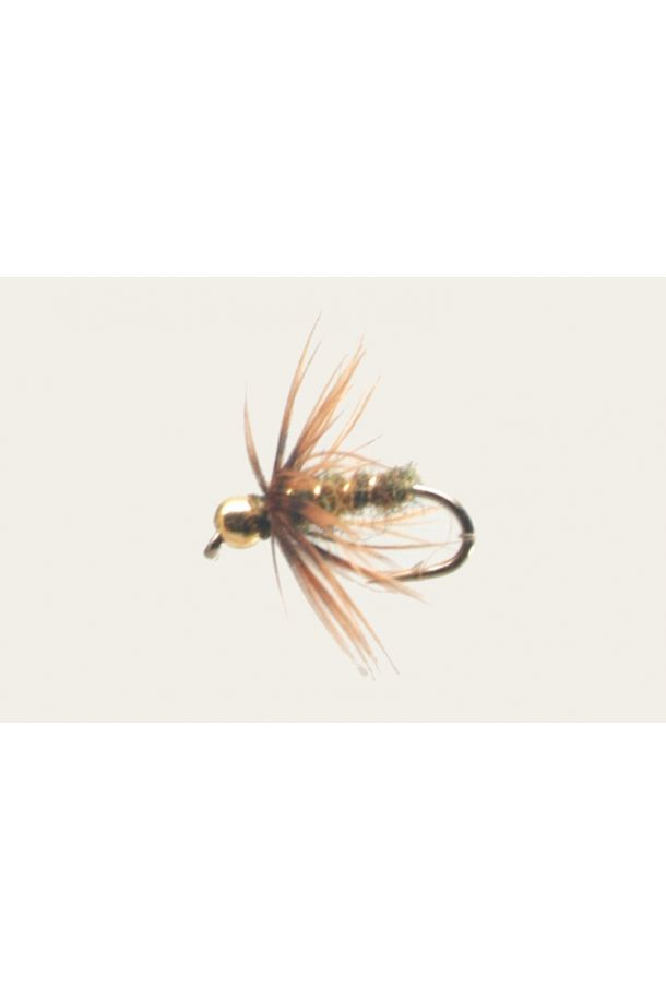 Bead Head Olive Caddis Pupa