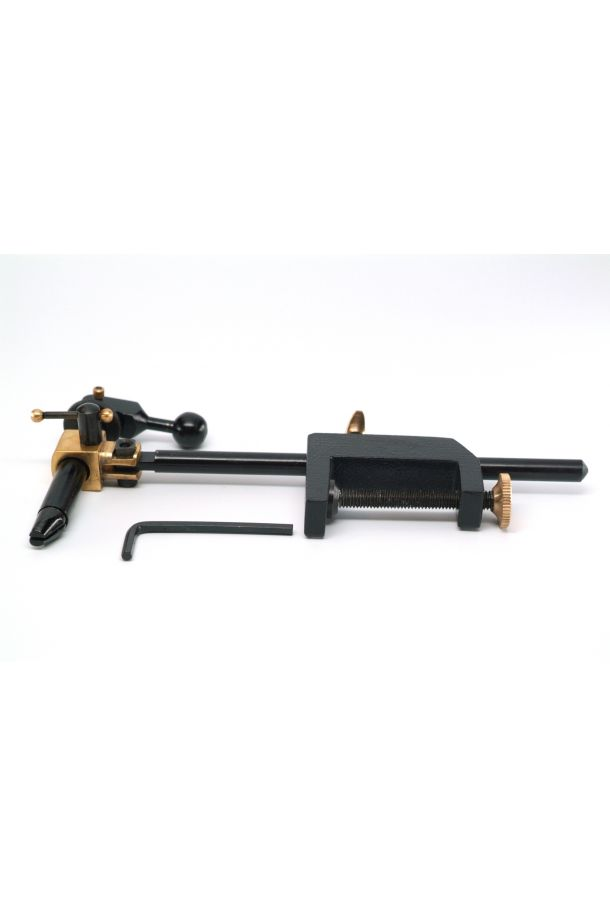 FFS Falcon Vise - Rotating head - Adjustable Jaw Angle - Fly Tying Vise