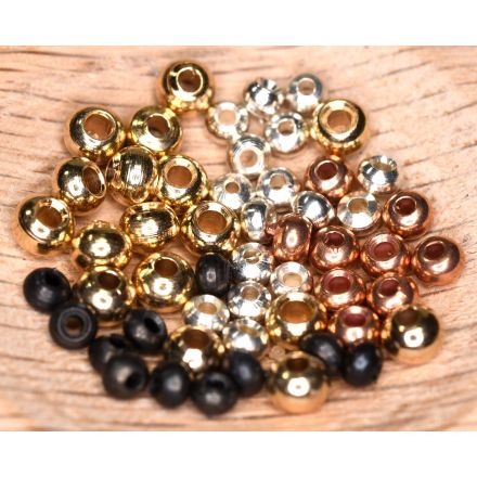 Brass Beads - Package of 25