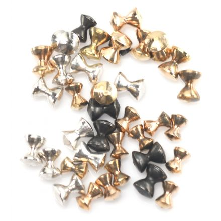 Barbell Brass Eyes - Package of 20