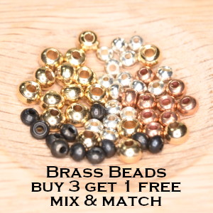 Brass Beads - Buy 3 Get 1