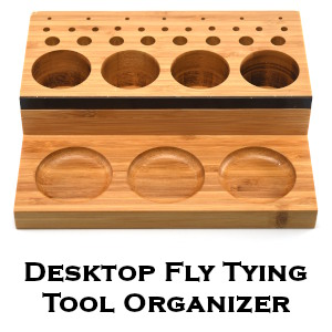 Desktop Fly Tying Organizer